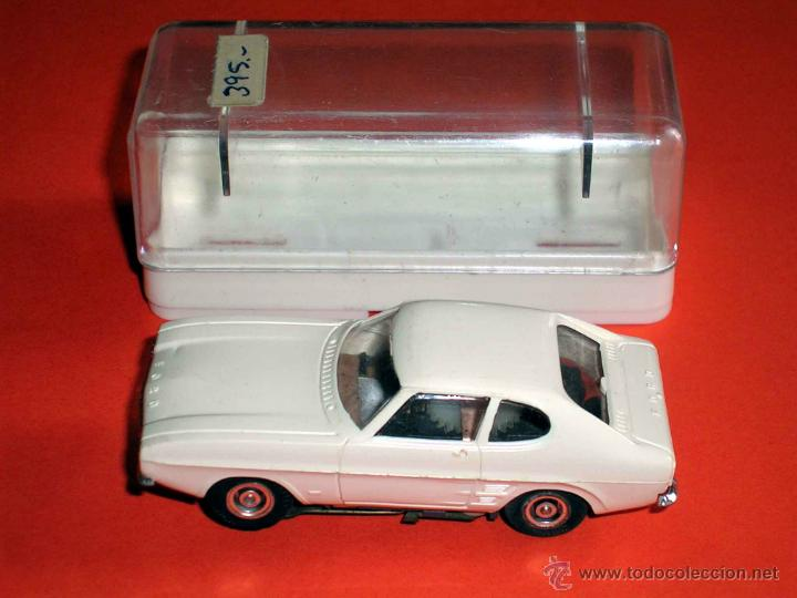 Slot Cars: Ford Capri. Slot Faller H0, made in Germany, Original años 60-70. Excelente - Foto 8 - 45440175