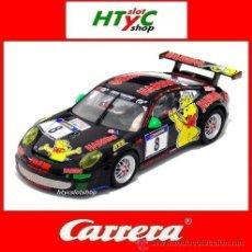 Slot Cars: CARRERA PORSCHE 911 RSR GT3 #8 HARIBO RACING NURBURGRING 2011 WESTBROOK 27457. Lote 45502897