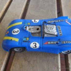 Slot Cars: ANTIGUO COCHE DE PISTA DE LA MARCA CARRERA PORSCHE DECORACION BRIDGESTONE. Lote 45607344