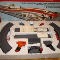 Slot Cars: CIRCUITO TCR 7300 MODEL-IBER AÑOS 70 3 COCHES. Lote 81000223