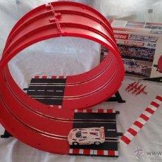 Slot Cars: CAJA LOOPING CIRCUITO COCHE LANCIA LC2 SLOT CAR CARRERA PROFI 71546 SCALEXTRIC . Lote 46760912