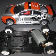 Slot Cars: OFERTA - PEUGEOT 406 ANALOGICO GRIS DE SPIRIT. Lote 137126644