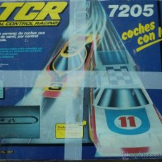 Slot Cars: CAJA COMPLETA TCR 7205 MODEL IBER (1980). TOTAL CONTROL RACING. Lote 47825209