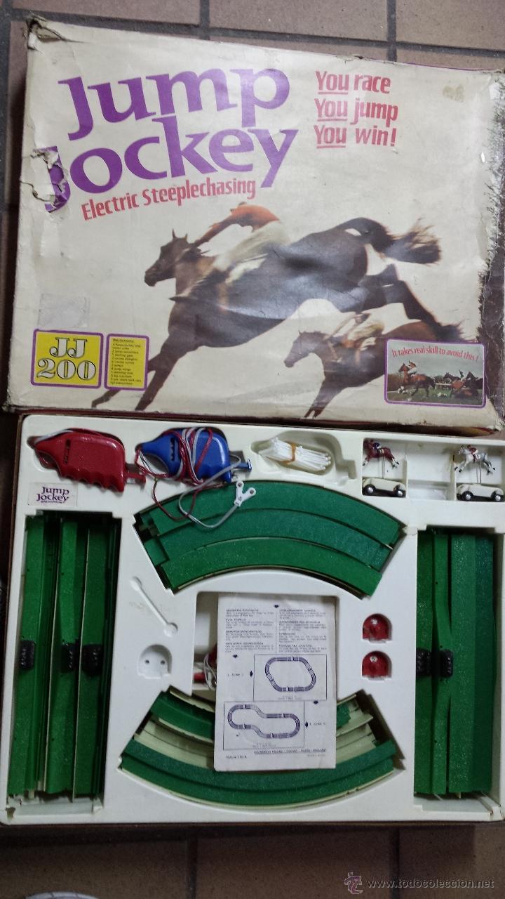 CIRCUITO DE CABALLOS JUMP JOCKEY (Juguetes - Slot Cars - Magic Cars y Otros)