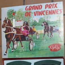 Slot Cars: CIRCUITO PEQUEÑO DE CABALLOS GRAN PRIX DE VINCENNES. Lote 48278029