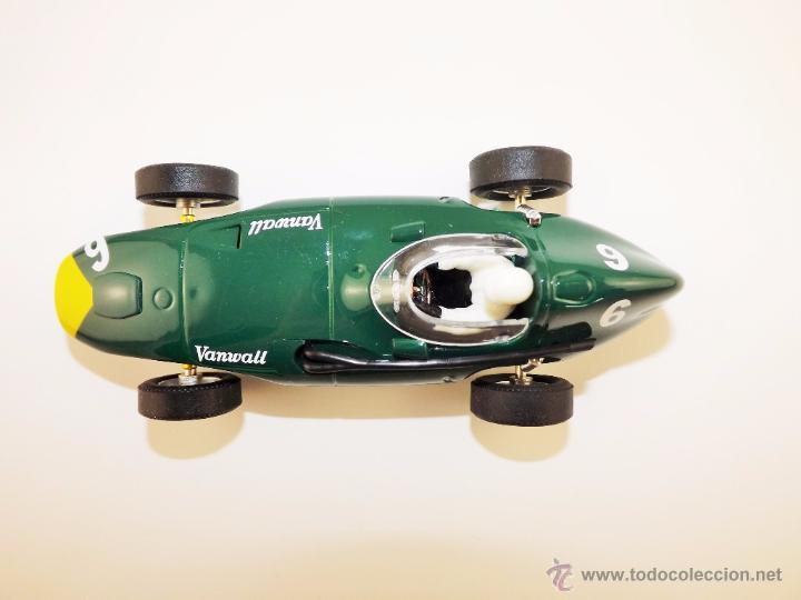 Slot Cars: Slot Cartrix Vanwall Grand Prix Legends + peana expositora (Nuevo de fábrica) - Foto 4 - 223331558