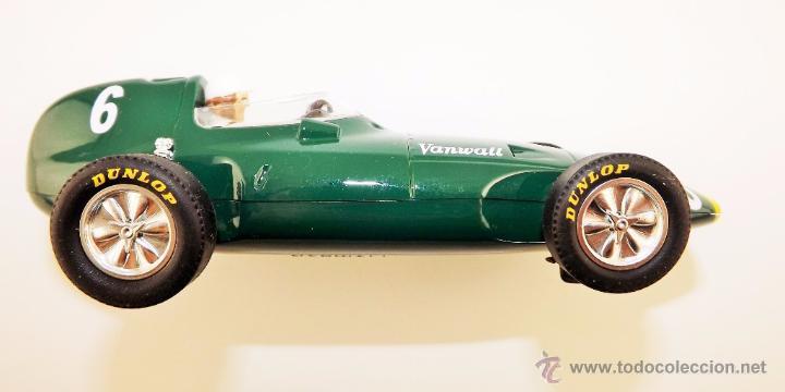 Slot Cars: Slot Cartrix Vanwall Grand Prix Legends + peana expositora (Nuevo de fábrica) - Foto 5 - 223331558
