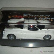 Slot Cars: COCHE SPEED LIGHT DE REPROTEC. Lote 48421255