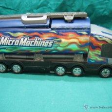 Slot Cars: CAMIÓN DE MICROMACHINES HASBRO 2001. Lote 48504108