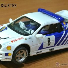 Slot Cars: FORD RS 200 DE SCALEXTRIC. Lote 48601941