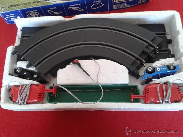 Slot Cars: PISTA DE CARRERAS SCALEXTRIX ELECTRICO POLISTIL CAJA ORIGINAL AÑOS 70 - Foto 2 - 48810555