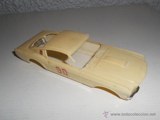 Slot Cars: ELDON 1/32 - CARROCERIA FORD MUSTANG - AÑOS 60 - MUSCLE CAR - VINTAGE SLOT CAR - Foto 2 - 36975306