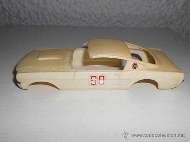 Slot Cars: ELDON 1/32 - CARROCERIA FORD MUSTANG - AÑOS 60 - MUSCLE CAR - VINTAGE SLOT CAR - Foto 3 - 36975306