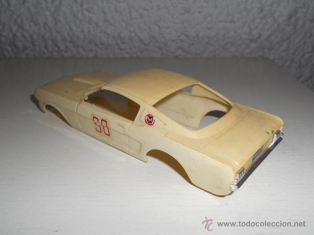 Slot Cars: ELDON 1/32 - CARROCERIA FORD MUSTANG - AÑOS 60 - MUSCLE CAR - VINTAGE SLOT CAR - Foto 4 - 36975306