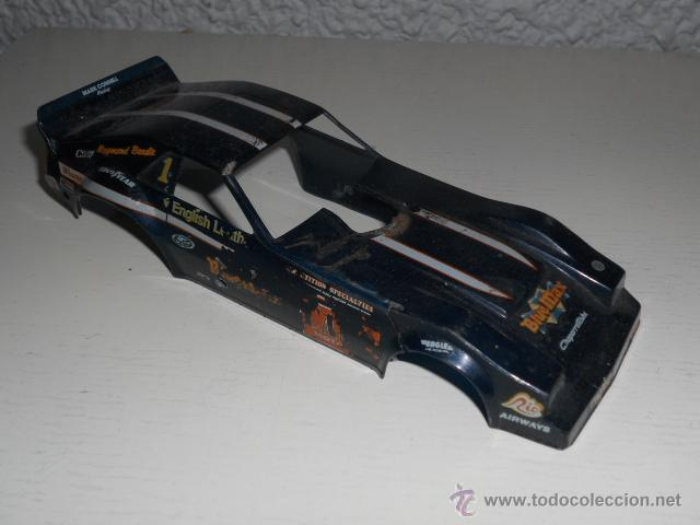 Slot Cars: HOT ROD DRAGSTER MUSCLE CAR - MAQUETA 1/32 - CARROCERIA TAMAÑO SLOT PROYECTO COCHE - Foto 2 - 36974314