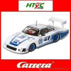 Slot Cars: CARRERA PORSCHE 935/78 MOBY DICK #09 PPG RIVERSIDE 1983 FOYT / ANDRETTI / WHITTINGTON 27372. Lote 126706958