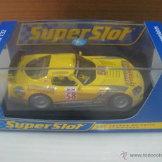Slot Cars: SUPERSLOT DOOGE VIPER COMPETICIÓN COUPE. Lote 50020385