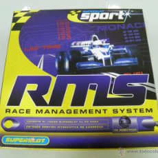 Slot Cars: SLOT, SUPERSLOT,SCALEXTRIC, GB, H8143, RACE MANAGEMENT SYSTEM (RMS) SISTEMA DE GESTION DE CARRERAS. Lote 50609332