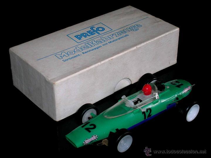 RARO MELKUS WARTBURG FÓRMULA 3, F III / 64, SLOT 1/32, PREFO DDR GERMANY, ORIGINAL AÑOS 60. (Juguetes - Slot Cars - Magic Cars y Otros)