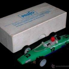 Slot Cars: RARO MELKUS WARTBURG FÓRMULA 3, F III / 64, SLOT 1/32, PREFO DDR GERMANY, ORIGINAL AÑOS 60.. Lote 50870303