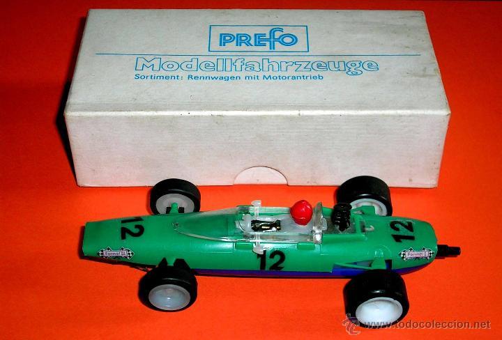 Slot Cars: Raro Melkus Wartburg Fórmula 3, F III / 64, slot 1/32, Prefo DDR Germany, original años 60. - Foto 2 - 50870303