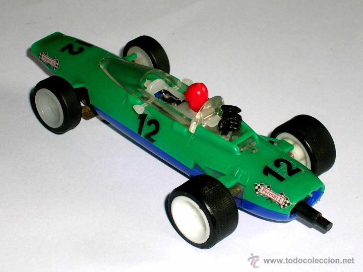 Slot Cars: Raro Melkus Wartburg Fórmula 3, F III / 64, slot 1/32, Prefo DDR Germany, original años 60. - Foto 4 - 50870303
