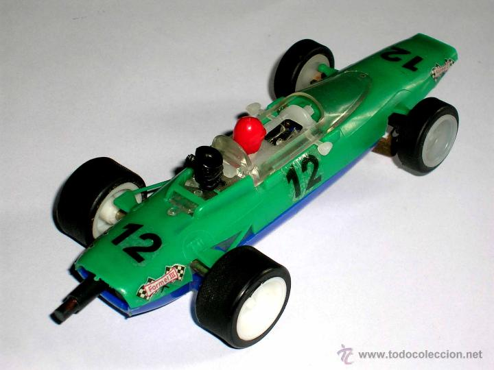 Slot Cars: Raro Melkus Wartburg Fórmula 3, F III / 64, slot 1/32, Prefo DDR Germany, original años 60. - Foto 5 - 50870303