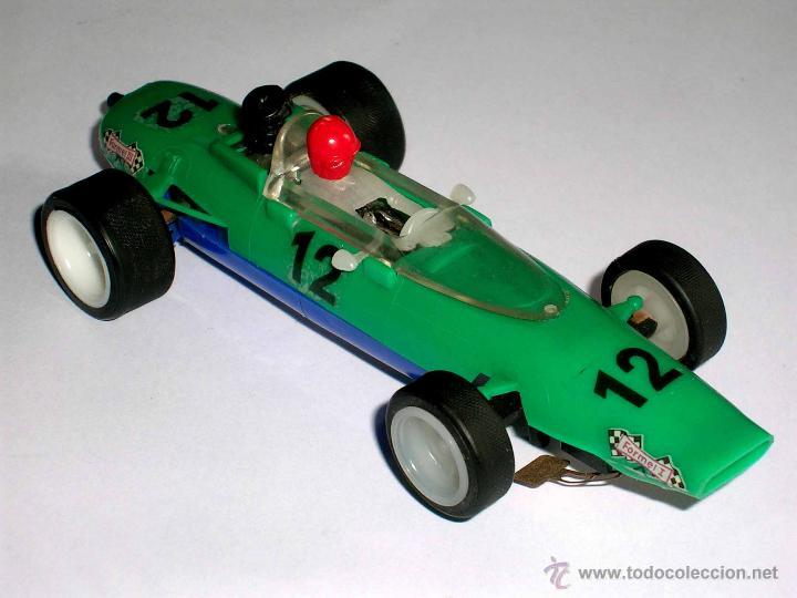 Slot Cars: Raro Melkus Wartburg Fórmula 3, F III / 64, slot 1/32, Prefo DDR Germany, original años 60. - Foto 6 - 50870303