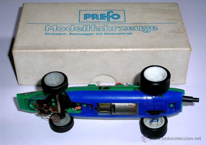 Slot Cars: Raro Melkus Wartburg Fórmula 3, F III / 64, slot 1/32, Prefo DDR Germany, original años 60. - Foto 7 - 50870303