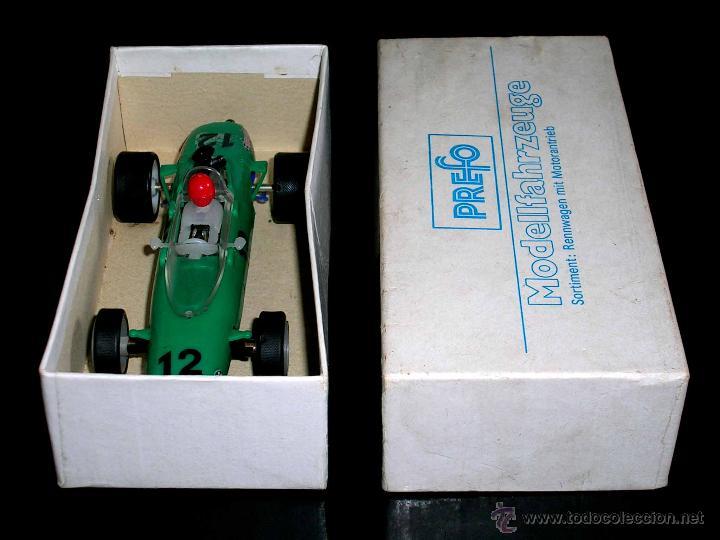 Slot Cars: Raro Melkus Wartburg Fórmula 3, F III / 64, slot 1/32, Prefo DDR Germany, original años 60. - Foto 8 - 50870303