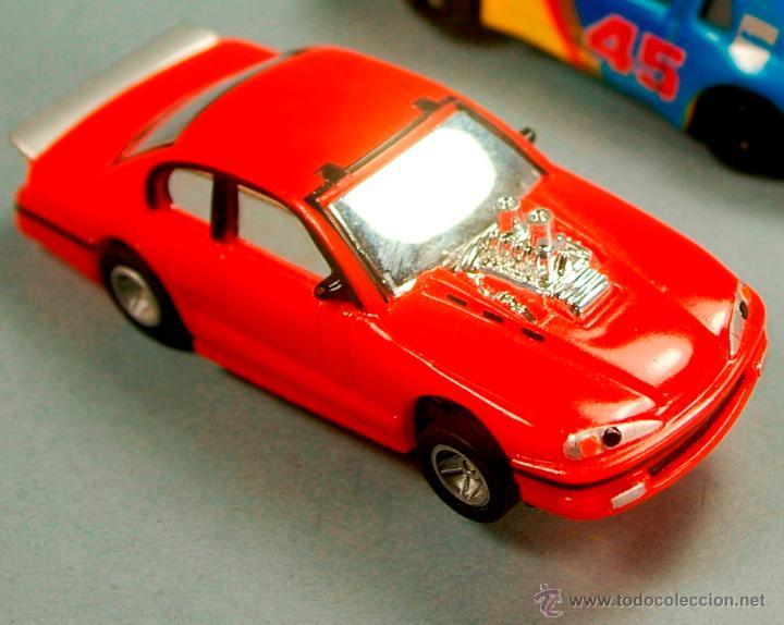 AURORA AFX - FORD CHEVROLET ? DISNEY THE CARS - HO SLOT COMANSI TYCO MINI SLOT CAR (Juguetes - Slot Cars - Magic Cars y Otros)