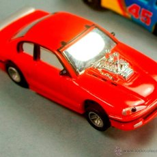 Slot Cars: AURORA AFX - FORD CHEVROLET ? DISNEY THE CARS - HO SLOT COMANSI TYCO MINI SLOT CAR. Lote 51529980