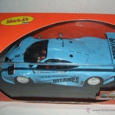 Slot Cars: F1 GTR WHITE KIT DECORACION GITANES DE SLOT.IT. Lote 51801894