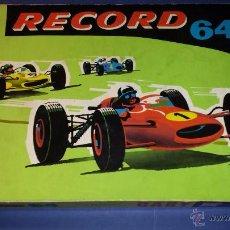 Slot Cars: CIRCUITO DE COCHES RECORD DE JOUEF PISTA DE COCHES. Lote 53288614