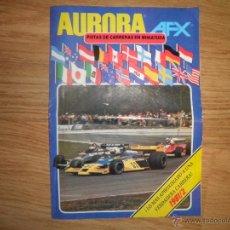 Slot Cars: CATALOGO AURORA AFX. Lote 78117122