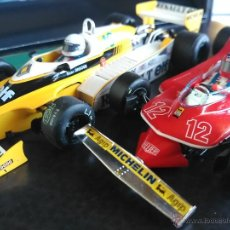 Slot Cars: SRC SLOT RACING COMPANY 770 U GREAT MOMENTS GP FRANCIA 79 ARNOUX VILLENUEVE ,FUNCIONA EN SCALEXTRIC. Lote 53490192