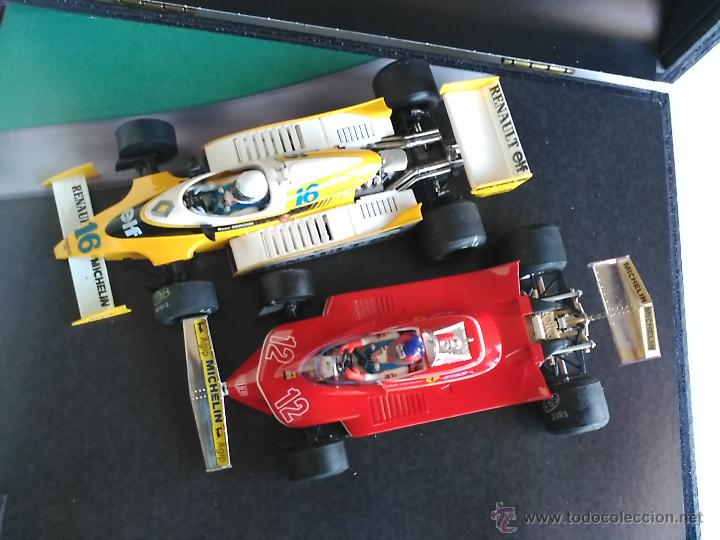 Slot Cars: SRC SLOT RACING COMPANY 770 U GREAT MOMENTS GP FRANCIA 79 ARNOUX VILLENUEVE ,FUNCIONA EN SCALEXTRIC - Foto 2 - 53490192