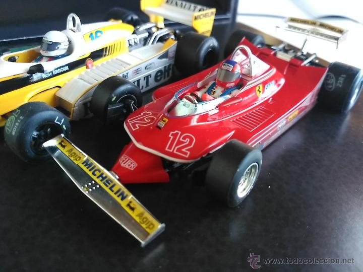 Slot Cars: SRC SLOT RACING COMPANY 770 U GREAT MOMENTS GP FRANCIA 79 ARNOUX VILLENUEVE ,FUNCIONA EN SCALEXTRIC - Foto 4 - 53490192