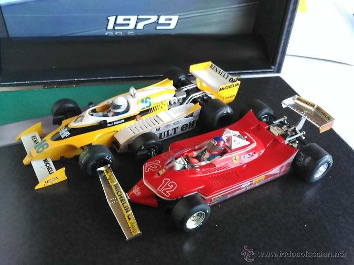 Slot Cars: SRC SLOT RACING COMPANY 770 U GREAT MOMENTS GP FRANCIA 79 ARNOUX VILLENUEVE ,FUNCIONA EN SCALEXTRIC - Foto 5 - 53490192