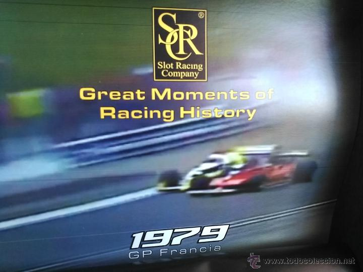 Slot Cars: SRC SLOT RACING COMPANY 770 U GREAT MOMENTS GP FRANCIA 79 ARNOUX VILLENUEVE ,FUNCIONA EN SCALEXTRIC - Foto 6 - 53490192