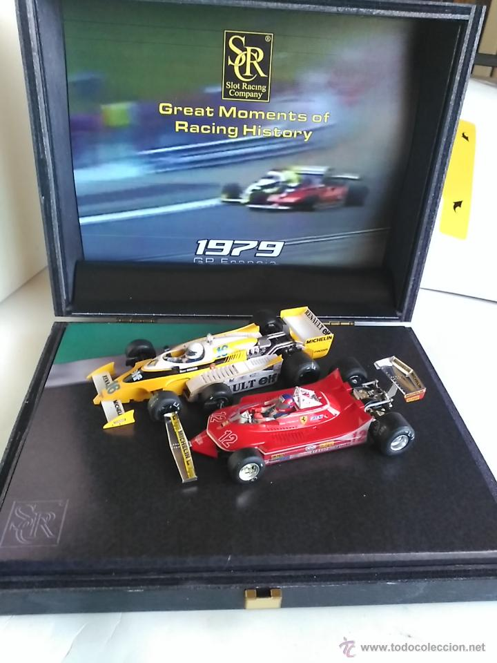 Slot Cars: SRC SLOT RACING COMPANY 770 U GREAT MOMENTS GP FRANCIA 79 ARNOUX VILLENUEVE ,FUNCIONA EN SCALEXTRIC - Foto 7 - 53490192