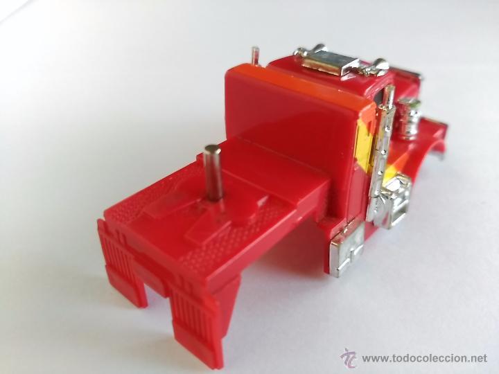 Slot Cars: TCR TOTAL CONTROL RACING CARROCERIA DE CAMION CON EJE PARA REMOLQUE - Foto 2 - 53772396