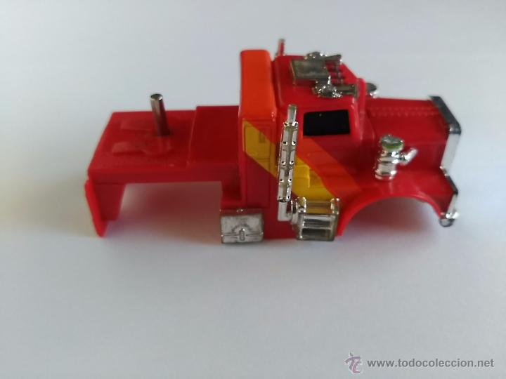Slot Cars: TCR TOTAL CONTROL RACING CARROCERIA DE CAMION CON EJE PARA REMOLQUE - Foto 3 - 53772396