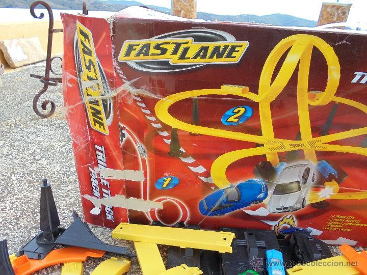 PISTA DE LANZAMIENTO FAST LANE (Juguetes - Slot Cars - Magic Cars y Otros)