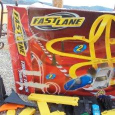 Slot Cars: PISTA DE LANZAMIENTO FAST LANE. Lote 54188102