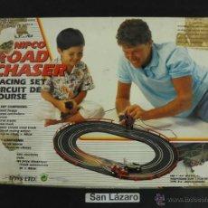 Slot Cars: ROAD CHASER RACING SET CIRCUIT DE COURSE FABRICADO EN CHINA DER GRÜNE PUNKT J127*. Lote 54600626