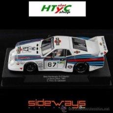 Slot Cars: SIDEWAYS RACER LANCIA BETA MONTECARLO #67 MARTINI LE MANS GABBIANI / PIRRO SW22. Lote 54975671