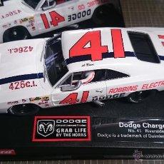 Slot Cars: DODGE CHARGER 500 CARRERA Nº 41 RIVERSIDE 1969. Lote 54805563