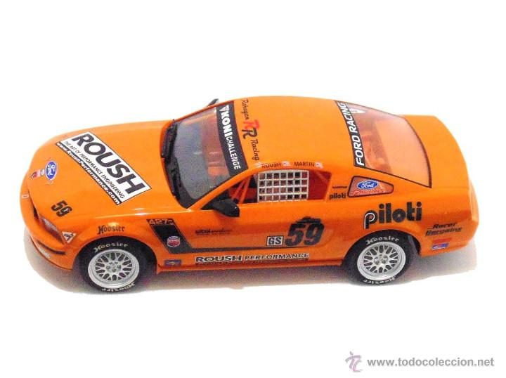 Slot Cars: SUPERSLOT MUSTANG RS500C #59 REHAGEN RACING ROUSH / MARTIN SCALEXTRIC UK H2888 - Foto 3 - 55075644
