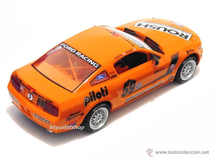 Slot Cars: SUPERSLOT MUSTANG RS500C #59 REHAGEN RACING ROUSH / MARTIN SCALEXTRIC UK H2888 - Foto 4 - 55075644